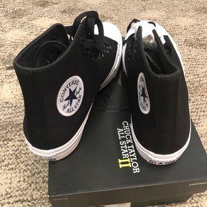 Black Converse Chuck Taylor All Stars II